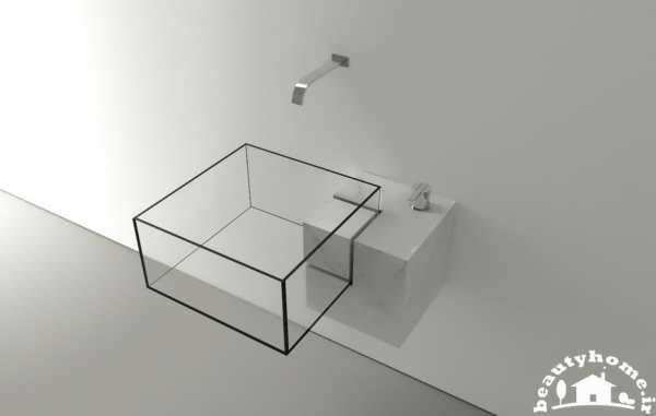 image مدل های شیک و مدرن روشویی برای دستشویی