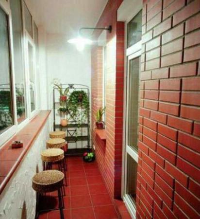 image ایده های جدید برای چیدمان تراس کوچک آپارتمانی