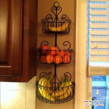 image, ایده های جالب دکوراسیون آشپزخانه با میوه ها