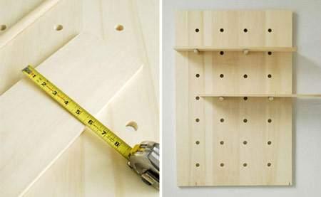 image, چطور در خانه طبقه و قفسه چوبی شیک درست کنیم