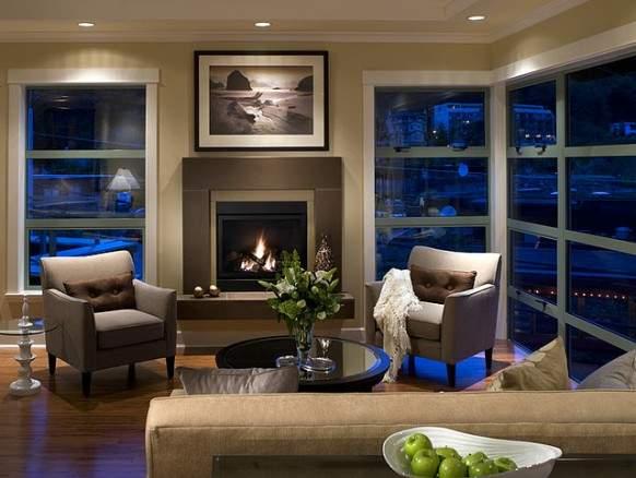 image چکار کنیم تا شومینه آپارتمان شیک تر به نظر برسد