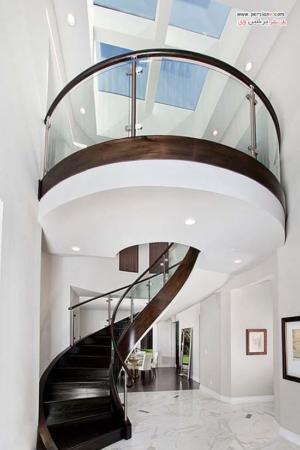 image, جدیدترین مدل های طراحی راه پله درونی خانه