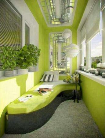 image, ایده های جدید برای چیدمان تراس کوچک آپارتمانی