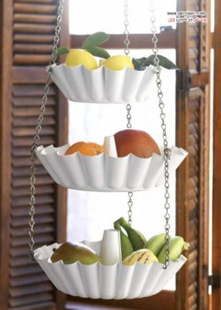 image ایده های جالب دکوراسیون آشپزخانه با میوه ها