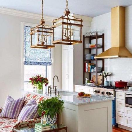 image ایده های جالب و مدرن برای دکوراسیون آشپزخانه کوچک