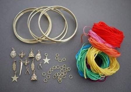 image آموزش ساخت دستبندهای دخترانه شیک در خانه