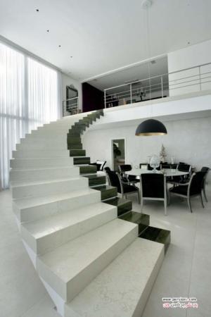 image جدیدترین مدل های طراحی راه پله درونی خانه