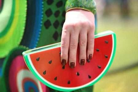 image, کیف دستی جدید زنانه مدل هندوانه ای