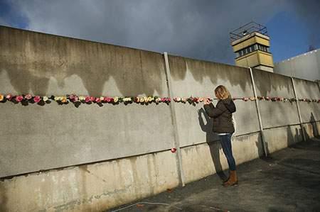 image, مراسم بیست و ششمین سالگرد فرو ریختن دیوار برلین