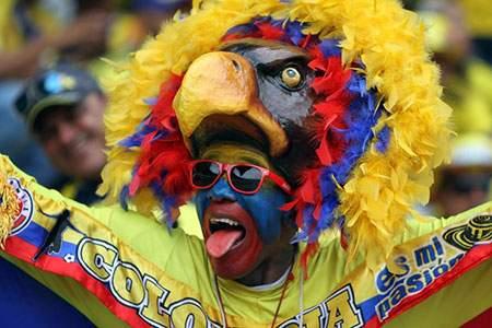 image طرفدار فوتبال کلمبیا مسابقات مقدماتی جام جهانی