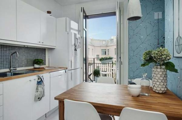 image, تصاویر دکوراسیون خلاقانه آپارتمان کوچک برای ۲ نفر
