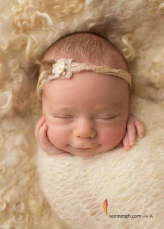 image عکس از بچه های ناز و شیرین در حالت خوابیده