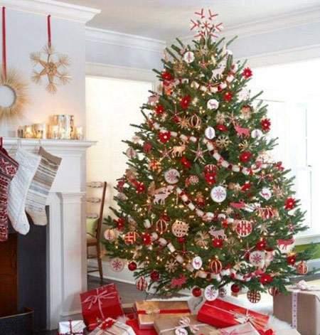 image مدل های زیبای تزیین درخت کریسمس که هیچ جا ندیده اید