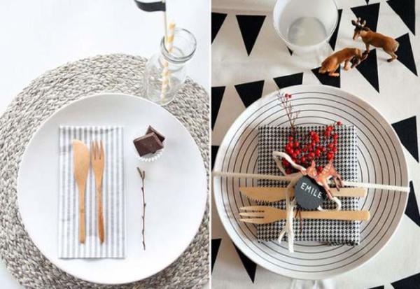 image شیک ترین مدل های چیدمان میز شام برای مهمانی رسمی