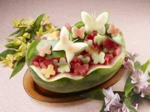 image خاص ترین مدل های چیدمان میوه برای مهمانی یلدا