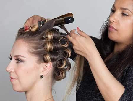 image, چطور بدون رفتن به آرایشگاه موهای خود را فر کنیم