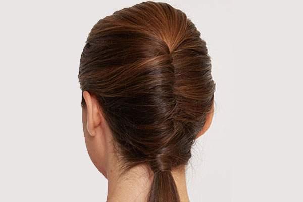 image آموزش عکس به عکس درست کردن موی شیک در زمان کم