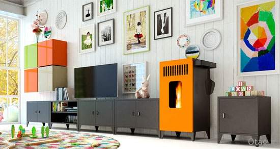 image شیک ترین مدل های شومینه برای خانه های مدل جدید