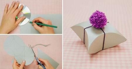 image آموزش ساخت دو مدل جعبه کوچک برای کادو دادن
