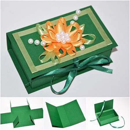 image, آموزش ساخت دو مدل جعبه کوچک برای کادو دادن