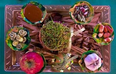 image, عکس هفت سین های زیبا و مدل سنتی برای شب عید
