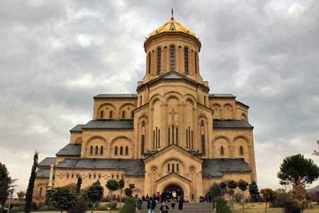 image, تصاویر بسیار زیبا از کلیسای جامع تثلیث گرجستان