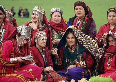 image, رسم های خواندنی کشور ترکمنستان در عید باستانی نوروز
