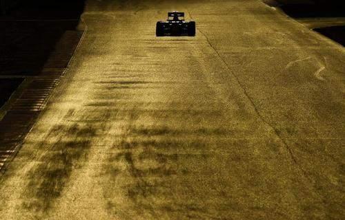 image ماشین مسابقه ای رد بول در مسابقات سرعت اسپانیا