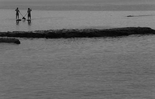 image, تصویری خاص از ساحل روشه در بیروت