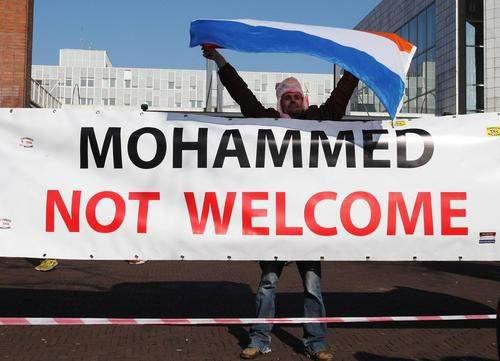 image, تظاهرات گروه های راست گرای ضد مهاجرت مسلمانان هلند