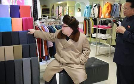 image, بازدید کیم جونگ اون رهبر کره شمالی از فروشگاه پیونگ یانگ