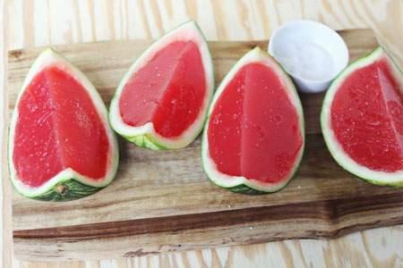 image آموزش عکس به عکس تزیین میوه های مختلف با ژله