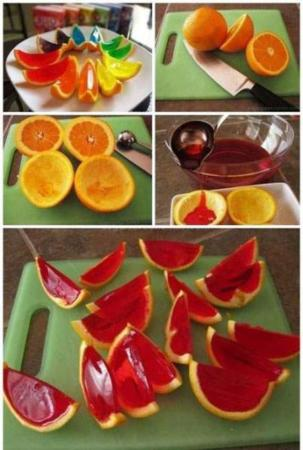 image, آموزش عکس به عکس تزیین میوه های مختلف با ژله