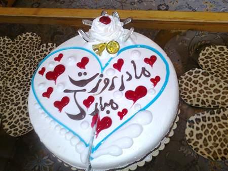 image زیباترین مدل های کیک خوشمزه برای روز مادر