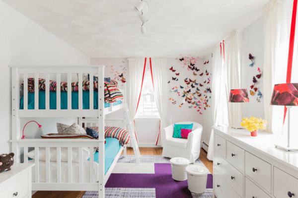 image مدرن ترین و شیک ترین ایده های طراحی اتاق خواب کودک