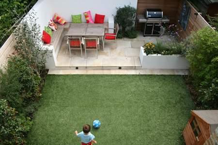 image چطور حیاط های کوچک را در بهار با صفا کنیم