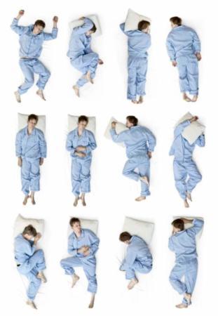 image شناخت روحیات همسر از روی مدل خوابیدن او در شب