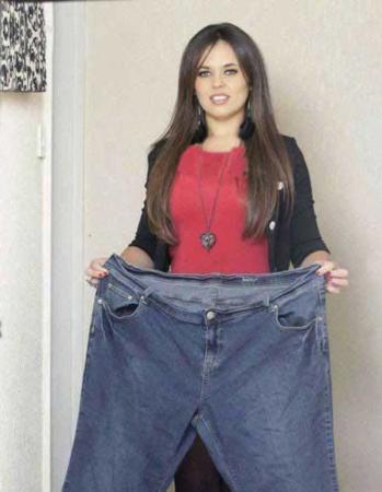 image عکس یک خانم چاق بعد از لاغری و رژیم گرفتن