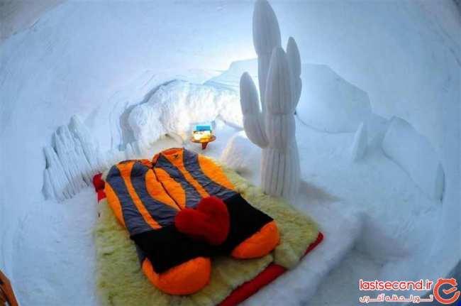 image عکس های دیدنی از یک هتل زیبای یخی