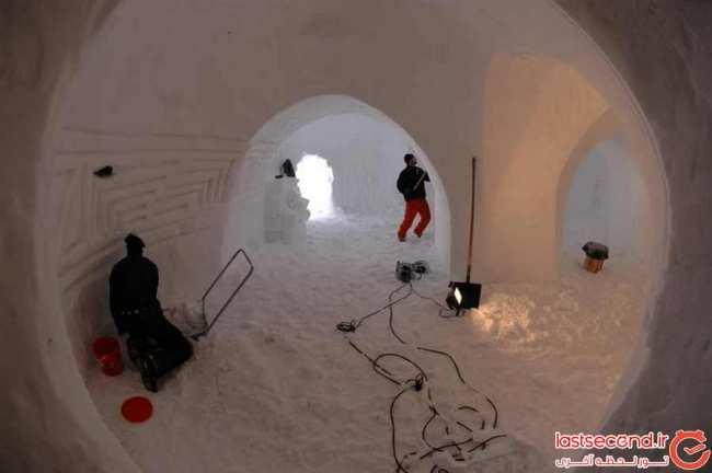 image, عکس های دیدنی از یک هتل زیبای یخی