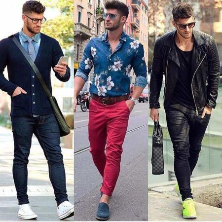 image مدل های شیک بهاری و تابستانی نحوه لباس پوشیدن آقایان