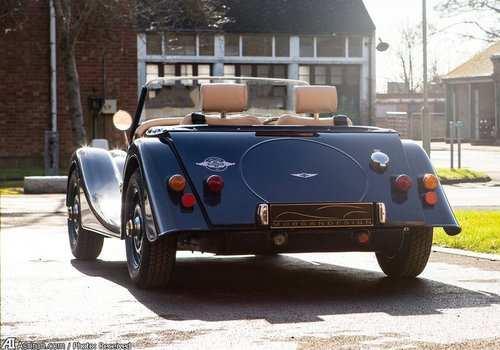image عکس های دیدنی ماشین مورگان ۴-۴ مدل  ساخت بریتانیا