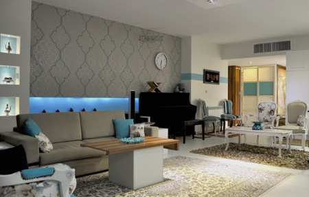 image شیک ترین رنگ در دکوراسیون خانه های مدرن چیست