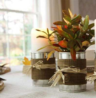 image, آموزش تصویری ساخت گلدان های فلزی شیک در خانه