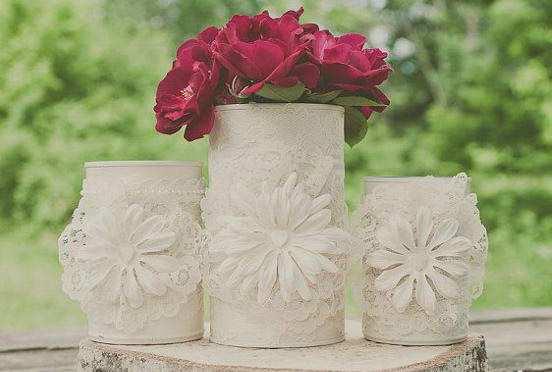 image آموزش تصویری ساخت گلدان های فلزی شیک در خانه