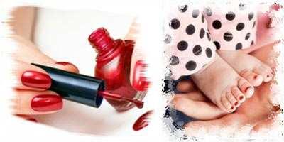 image, چرا نباید برای بچه ها لاک ناخن زد