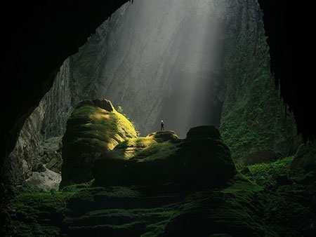 image تصویر شگفت انگیز بزرگ ترین غار جنگل زیر زمینی جهان ویتنام
