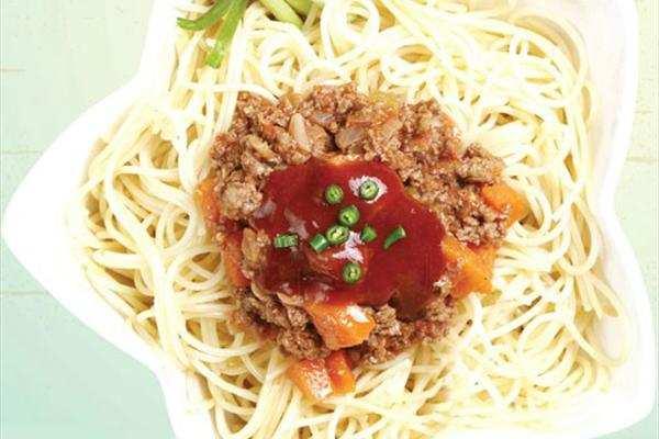 image, چطور اسپاگتی با سس مخصوص ایتالیایی درست کنیم