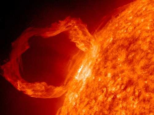 image, عکسی دیدنی از سطح خورشید منتشر شده توسط ناسا