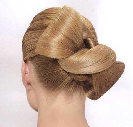 image مدلهای جدید مو برای خانم ها در شب نامزدی